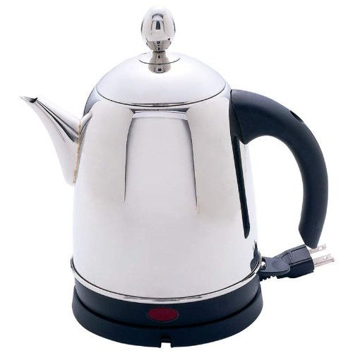 Precise Heat™ 1.3Qt Surgical Stainless Steel Electric Water Kettle