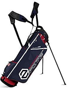 Sun Mountain 2 Five Golf Stand Bag Carry Two 5 Lightweight 2016 Navy/White/Red New by Sun Mountain
