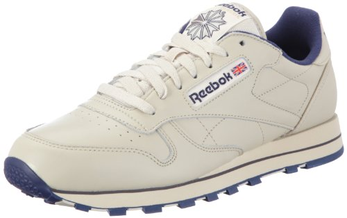 reebok-classic-leather-men-training-running-shoes-beige-ecru-navy-10-uk-44-1-2-eu