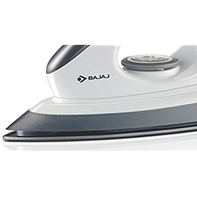 Bajaj Majesty DX 8 1000-Watt Dry Iron (Grey/White)