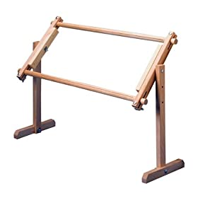 Adjustable table/lap stand - A type of needlepoint frame