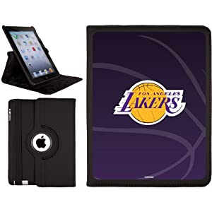 Los Angeles Lakers - bball design on a Black 2nd-4th Generation iPad Swivel Stand... by Coveroo