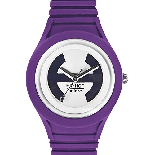 BREIL HIP HOP Watch Solar Unisex Solar Powered Purple - hwu0538