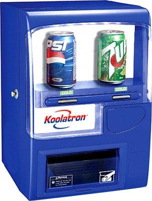 Koolatron Vending Fridge, BLUE