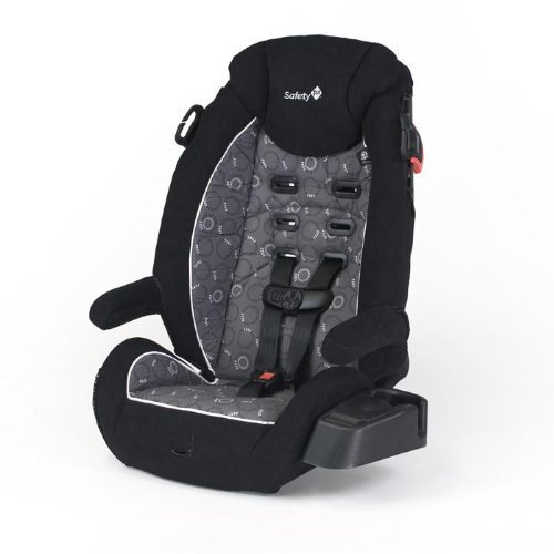 Safety 1st Vantage High Back Booster Car Seat , Orion Black - 1