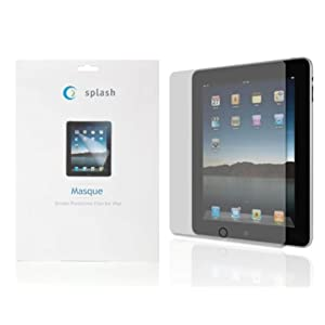 splash Masque Screen Protector Films Clear (Invisible) for Apple iPad (3-Pack)