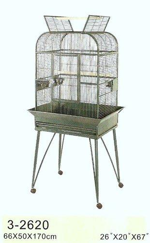 Hochwertiger Design Vogel Käfig 66x50x170cm