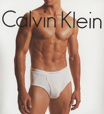 Why Mr. Calvin Klein model is that a cock (oops Freudian slip) I mean sock or are you just happy to see me?