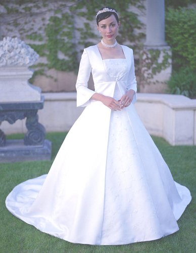 Bridal Gown Wedding Dress LDS Temple Ready Modest