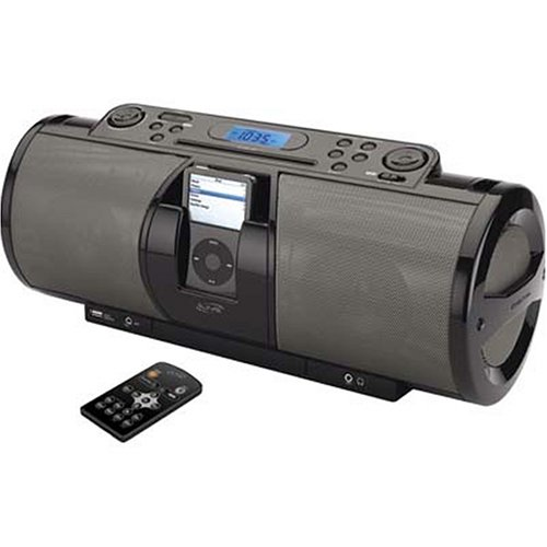 ihome Dock: iLive IBCD3816DT Portable 2.1-Channel CD Boombox with ...