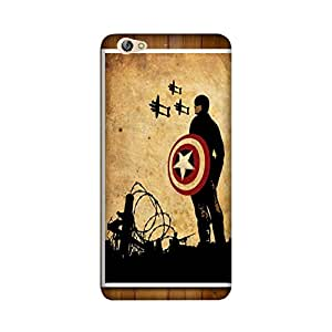 theStyleO Gionee S6 Designer Printed Case & Covers (Gionee S6 Back Cover) - Superhero Captain America