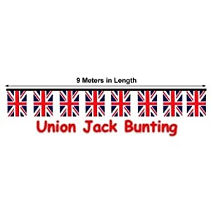 British Union Jack Royal Wedding Bunting