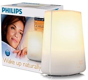 Philips Wake-Up Light HF3475/01 With Radio Alarm - White