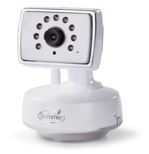 Summer Infant Extra Camera for Best View Monitor, White