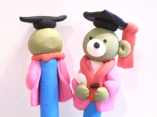 New Cute Handmade Polymer Fimo Clay Teddy Bear
