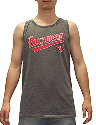 BIG & TALL Mens NFL Tampa Bay Buccaneers Tank Top / Sleeveless T-Shirt