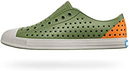 Native Mens Juice Grn Foxtail Org Pgn Gry Eva Casual Shoes 8 UK