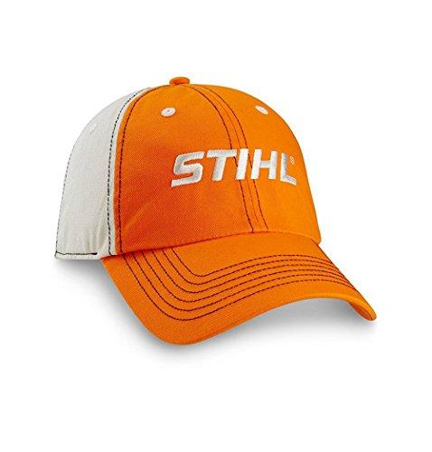Men's STIHL Hat / Cap (Khaki / Orange) - 8401693 (Stihl Cap compare prices)