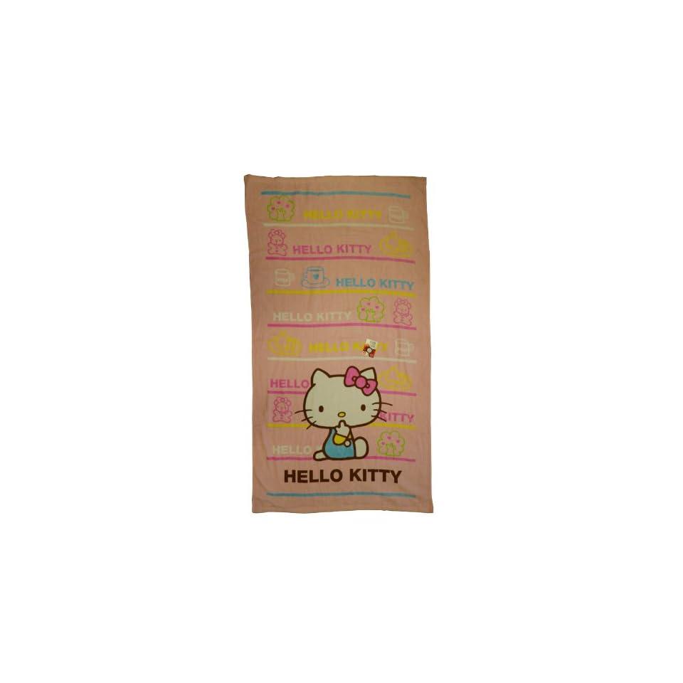 Hello Kitty Beach Towel   Sanrio Hello Kitty Towel