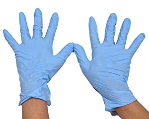 Lotus Disposable Medium Nitrile Gloves- Pack of 75 Pieces