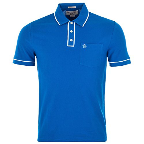 mens-original-penguin-mens-earl-polo-shirt-in-blue-xl