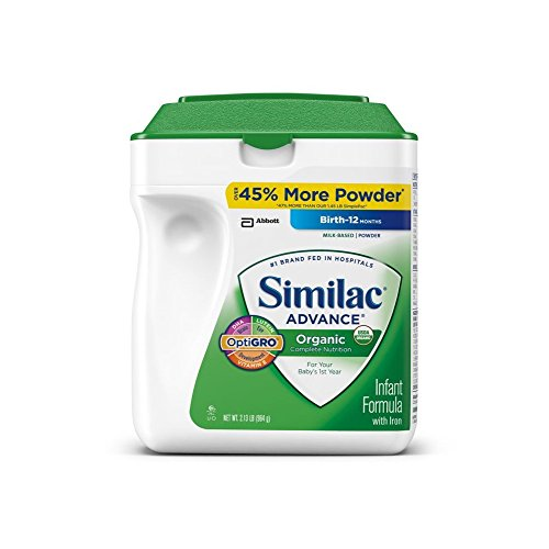 Similac - Organic Infant Formula, 34 Oz. - 1 Pk.