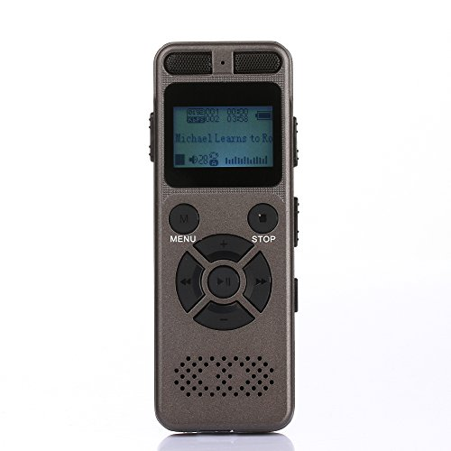 ALS Portable Rechargeable 8gb Hd/vox/sto Stereo Professional
