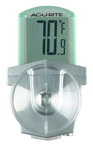 Chaney Instrument AcuRite Digital Outdoor Window Thermometer