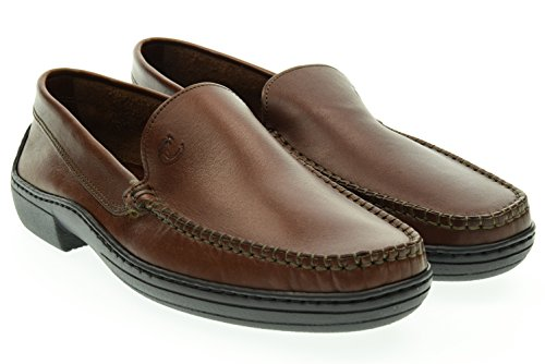 VALLEVERDE uomo mocassino 11822 45 Marrone