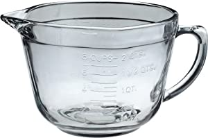 Anchor Hocking 2 Quart Ovenproof Glass Batter Bowl