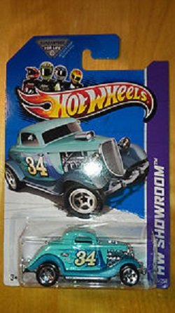Hot Wheels 3-Window '34 Ford