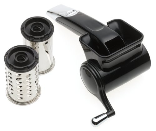 KitchenAid KG301 Rotary Grater, Black (Rotary Cheese Grater Kitchenaid compare prices)
