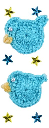 Jolee'S Boutique Dimensional Stickers, Baby Boy Crochet Ducks