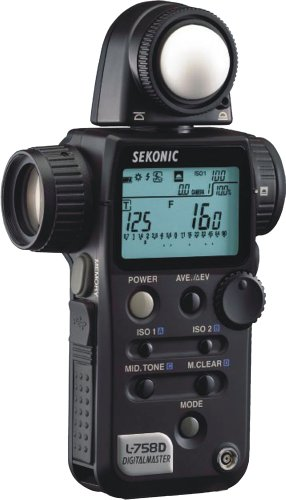 Sekonic Digitalmaster L-758 Digital Light/Flash Meter
