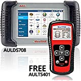 Autel (AULDS708TPR) MaxiDas DS708 Automotive Diagnostic System with Free MaxiTPMS TS401 Test Tool