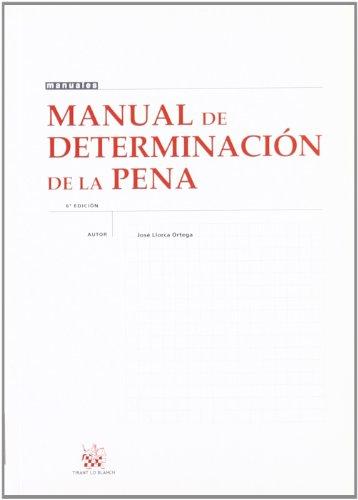 Manual de determinación de la pena