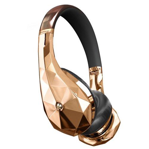 Monster® Diamondz Rose Gold On-Ear Headphones, Apple & Universal Ct - Rose Gold