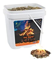 InstaFire Eco-Friendly Granulated Bulk Fire Starter, 2-Gallon Bucket