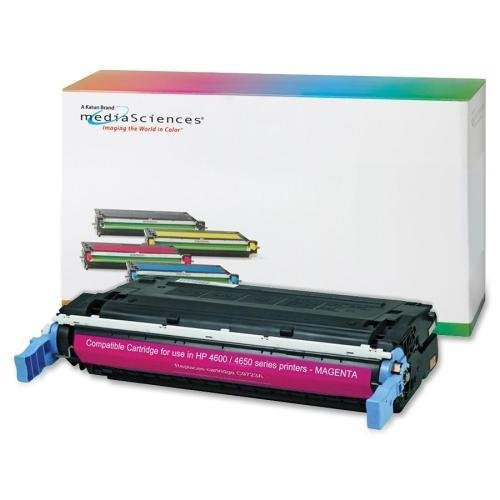 Media Sciences Toner Cartridge, 641A, 8000 Page Yield, Magenta (40998)