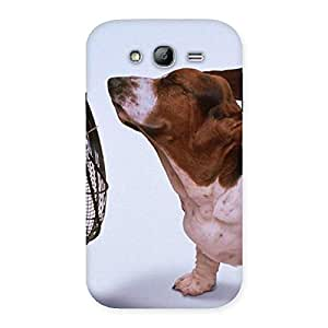 Cute Dog Fan Back Case Cover for Galaxy Grand Neo