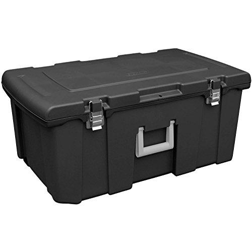 footlocker-storage-bin-with-metal-latches-and-wheels-black