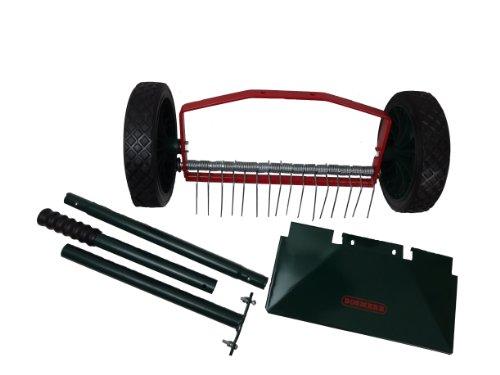 Bosmere W300 Rolling Lawn Scarifier, Steel