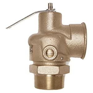 steam safety relief valve piping
