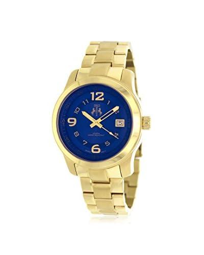 Jivago Women's JV5217 Infinity Gold/Blue Stainless Steel Watch