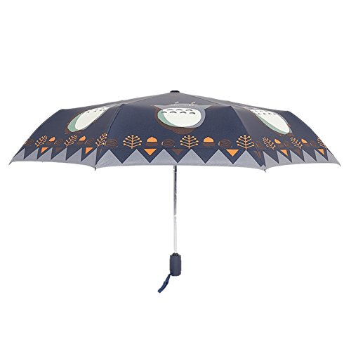 [KROGL UB50081C3 Totoro Women Umbrellas] (Good Triplet Costumes)