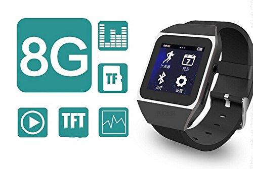 Bluetooth Touch Screen MP3/MP4 Player Wireless Sport Watch ...
