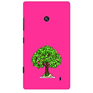 Skin4gadgets Spring Tree Colour - Medium Orchid Phone Skin for LUMIA 520