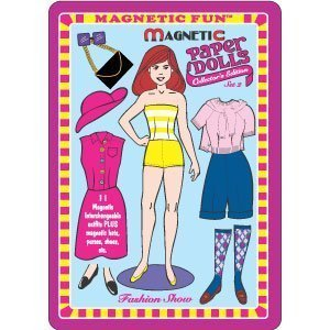 Magnetic Fun Tin Paper Dolls Set 2