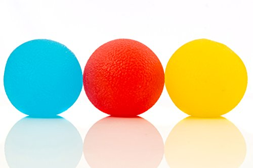 Squishy-Stress-Relief-Balls-3-pack-Tear-Resistant-Non-toxic-BPAPhthalateLatex-Free-Colors-as-Shown