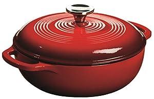 Lodge EC6D43 Color 6-Quart Dutch Oven (Island Spice Red)